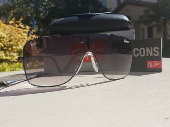Ray-Ban Wings II 2 Black/Gray Aviator RB 3697 for Sale in Jurupa Valley,  CA