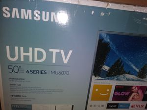 50 inch samsung smart 4k tv for Sale in Pittsburgh, PA
