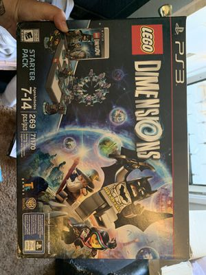 LEGO Dimensions - PS3 set for Sale in Dinuba, CA