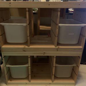 IKEA Trofast Toy Storage Bin for Sale in Brooklyn, NY