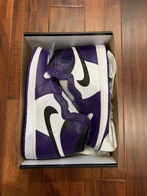 Court Purple Air Jordan 1 (Size 9.5) for Sale in FL, US