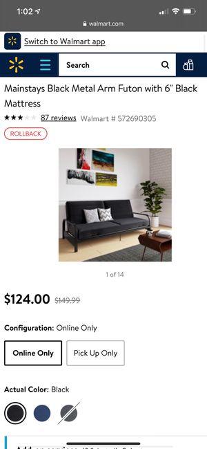 Futon for sale OBO for Sale in Seattle, WA