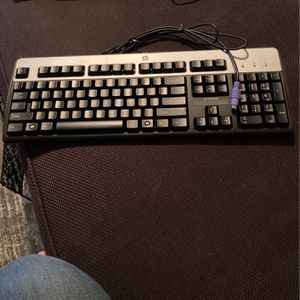 FREE HP Keyboard With PS2 Connector for Sale in Norco, CA
