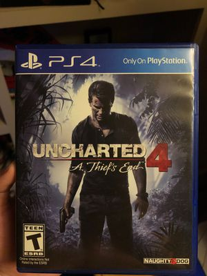 Uncharted 4 A Thief's End. PS4. for Sale in Pearl, MS