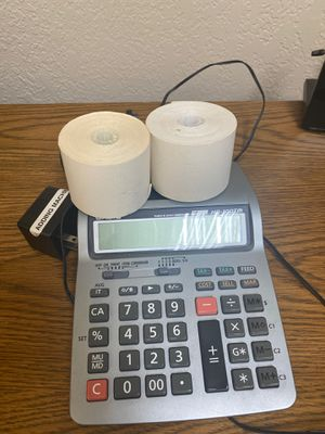 Printing calculator for Sale in San Jose, CA