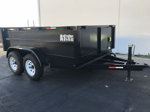 Dump Trailer 8x10x2 for Sale in Gardena, CA