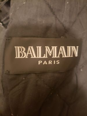 BALMAIN leather jacket. for Sale in West Hollywood, CA