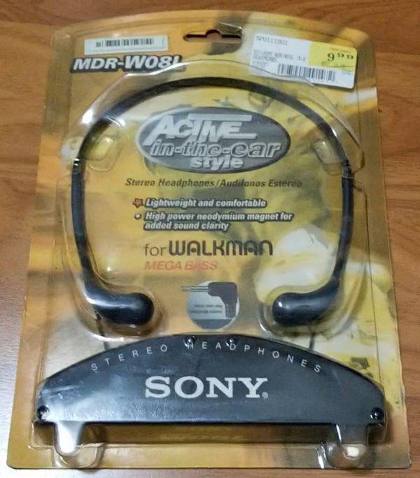 Sony MDR-W08L Headphones