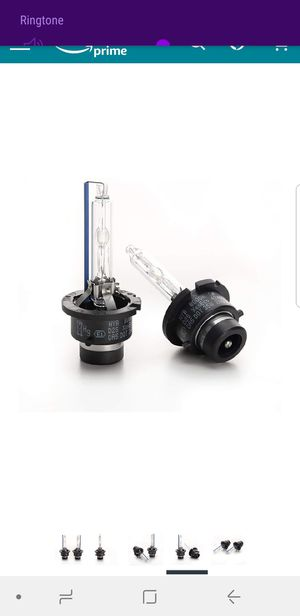 Xenon HID headlight replacement bulbs for Sale in Crofton, MD