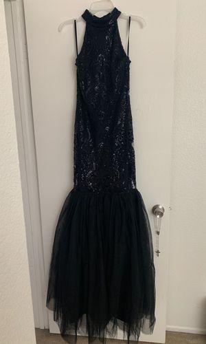 Black mermaid formal dress for Sale in Perris, CA