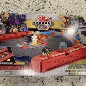 New Bakugan Battle League Coliseum, Deluxe Game Board with Exclusive Fused Howlkor x Serpenteze for Sale in Las Vegas, NV