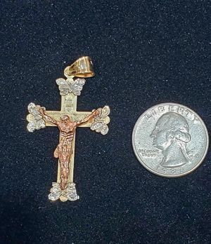 14K Gold Cross Pendant/Charm for Sale in San Diego, CA