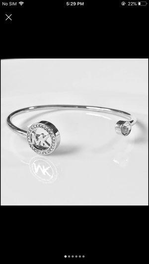 Mk Michael kors open cuff bangle bracelet women's jewelry accessory for Sale in Silver Spring, MD