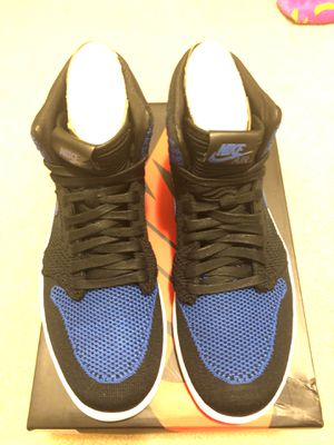 Air Jordan 1 flyknit royal size 9.5 for Sale in Daly City, CA