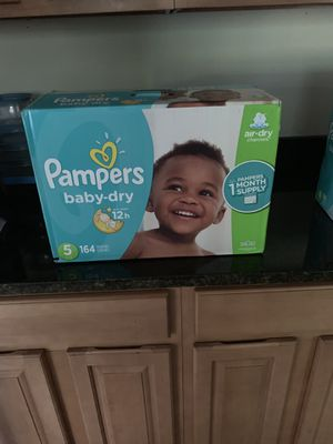 Pampers Baby Dry Stage 5 for Sale in Chesapeake, VA