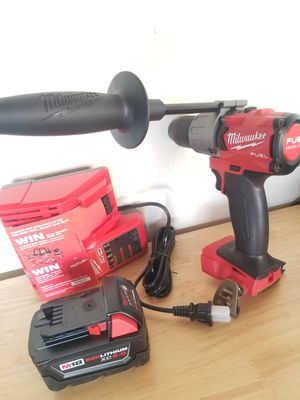 M18 Milwaukee Fuel Brushless Hammer Drill/ 5.0 XC battery/ Charger all Brand NEW !!!! for Sale in Bakersfield, CA