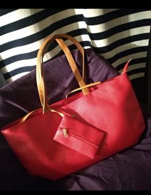 Faux Leather Ladies Tote Bag/Messenger for Sale in Gladstone, OR