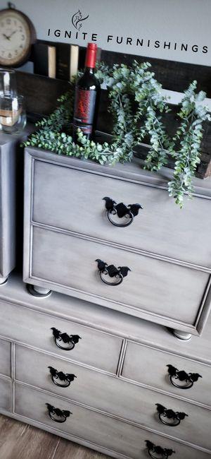 Refinished Modern Industrial Dresser Nightstands for Sale in Salem, OR