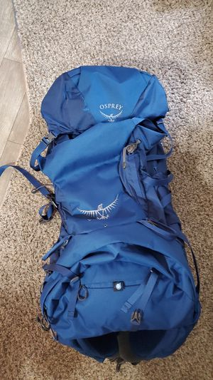 Osprey Volt 60 Backpacking Bag Only Used Once Great Condition for Sale in Oak Park, MI