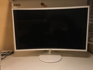 """Samsung 32"""" LED Curved Monitor for Sale in Del Mar, CA"""