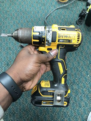 Drill, Tools-Power Dewalt W/Battery No Charger XR Brushless for Sale in Baltimore, MD
