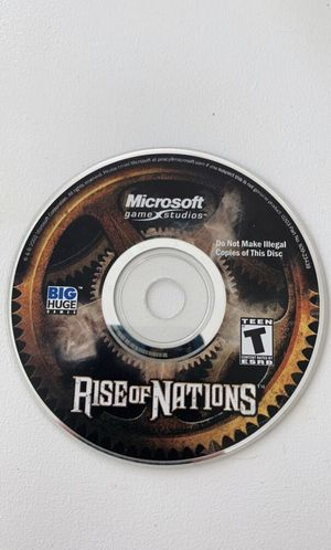 Rise of Nations PC Game for Sale in Millsboro, DE