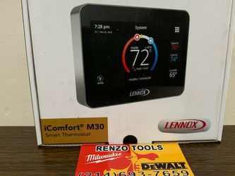 NEW LENNOX ICOMFORT M30 SMART THERMOSTAT for Sale in Dallas,  TX