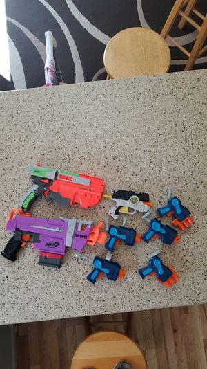 Nerf guns (many types) for Sale in Oregon City, OR