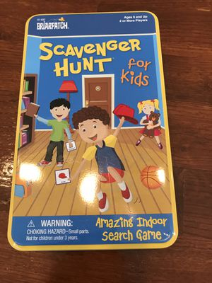 Kids scavenger hunt game for Sale in Henderson, NV
