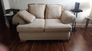 Sofa and loveseat cream for Sale in The Villages, FL