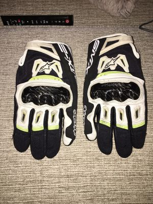 Alpinestars smx 2 air carbon gloves for Sale in St. Louis, MO