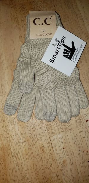 CC Kids Beige Gloves for Sale in Rockland, MA