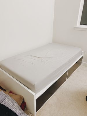IKEA bed frame and tuft & needle mattress for Sale in San Jose, CA