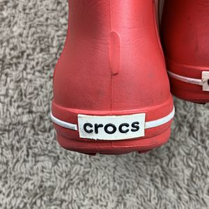 Red cros rain boots women's 6 for Sale in San Jose, CA