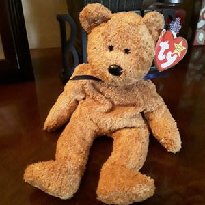 """Ty Beanie Baby """" FUZZ """" Bear Collectible W/ Tag Errors - Mint Condition for Sale in West Covina, CA"""