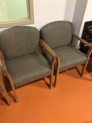 12 or so office chairs. for Sale in Billerica, MA
