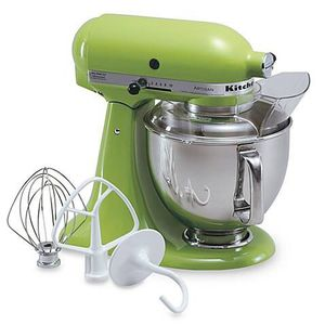 Apple Green Kitchenaid Mixer, hardly used for Sale in Sterling, VA