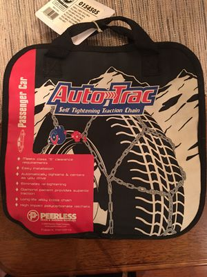 TIRE CHAINS FOR SNOW DRIVING CONDITIONS-BRAND NEW for Sale in Laguna Beach, CA