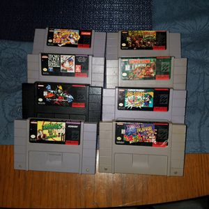 SNES Super Nintendo Games for Sale in Pearland, TX