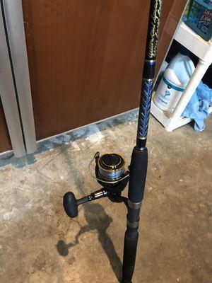 New Diawa bg 5000 on new Key Largo custom rod for Sale in Fort Lauderdale, FL