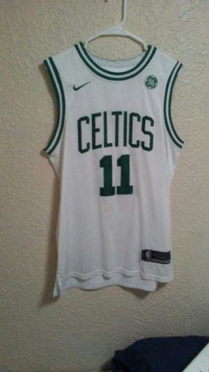 White Kyrie Irving Celtics jersey for Sale in Dallas, TX