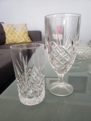 Crystal Glassware Set- 24 Pieces for Sale in Lorton, VA