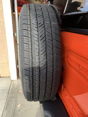 18' Blacked out Rims & Tires for Jeep Wrangler (5) for Sale in Kerman, CA