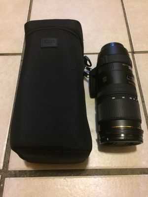 Sigma 70-200mm 2.8 OS DG Nikon Mount Lens for Sale in New York, NY