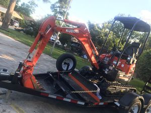 Mini Excavator U17 model for Sale in Houston, TX