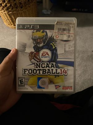 NCAA 14 PS3 for Sale in Edgewood, MD