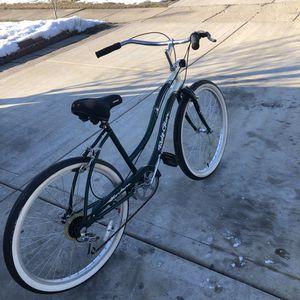"""26"""" 6 speeds women's beach cruiser bike. for Sale in Romeoville, IL"""