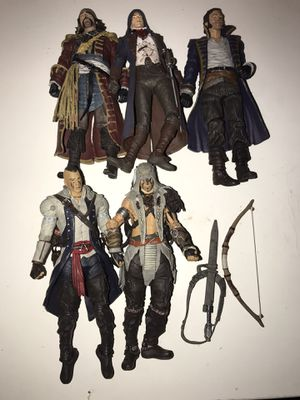 Assassins creed action figures for Sale in Travelers Rest, SC