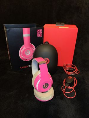 Beats Studio Limited Edition Pink for Sale in Miramar, FL