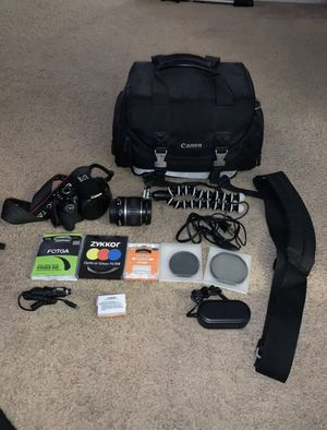 Canon Rebel T4i DSLR PREMIUM Bundle for Sale in El Segundo, CA